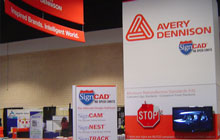Avery Dennison Trade Booth
