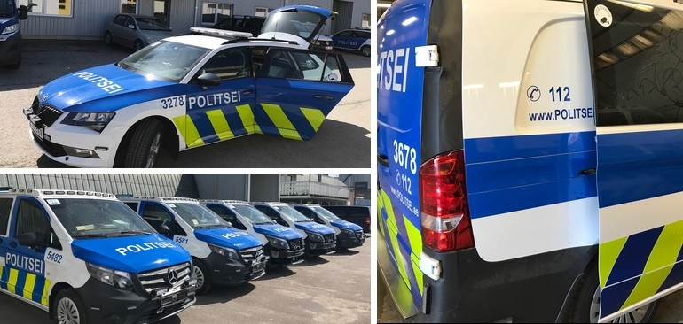 Making the Estonian Police Fleet stand out